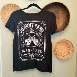 Women's Zion Rootswear Johnny Cash  Tee